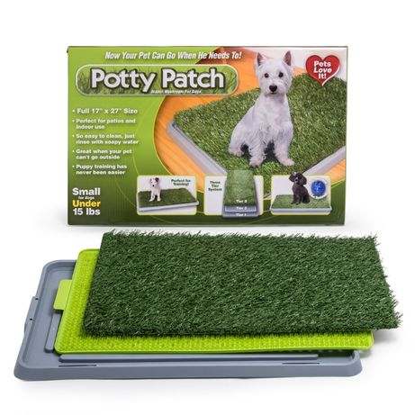 Potty Patch кучешка тоалетна с решетка и трева