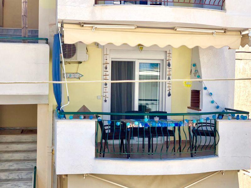 Апартамент под наем с две спални Паралия Офринио, Гърция - Сезон 2021
