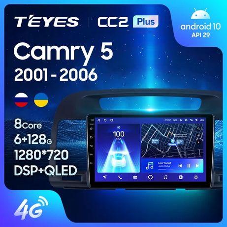 Штатная магнитола TEYES CC3 / sPro+ для Toyota Camry 30