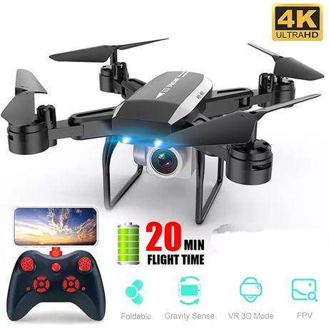 Drona cu camera 4K , Wi-Fi ,zbor 20 minute marime 30 cm Zoom 50X, Nouă