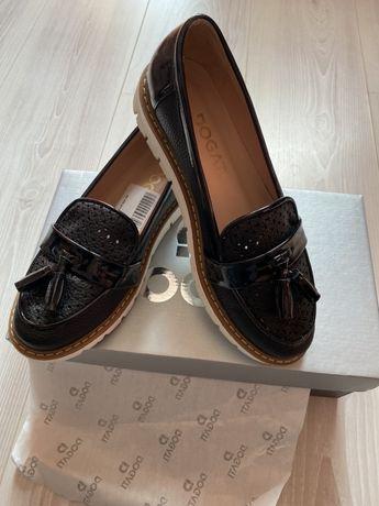 Pantofi DOGATI piele sintetica, nr.37, transport curier inclus