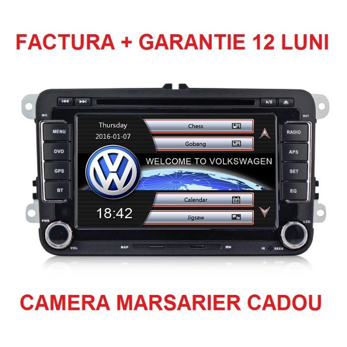 Navigatie Gps auto VW Skoda Golf 5 6 Polo Passat B6 B7 CC Jetta Bucuresti - imagine 1