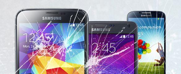 Смяна на стъкло/тъч Samsung S A J E и note серии