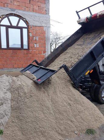 Transport : Nisip Balastru Sorturii + buldoexcavator  de inchiriat