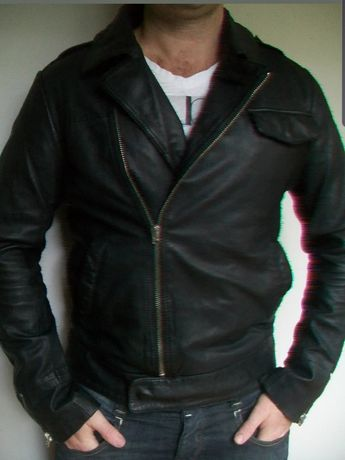 G-star мъжко яке от естествена кожа