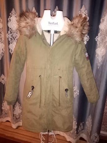 Куртка зимняя для девочкам