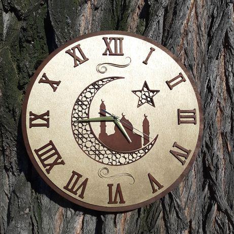 Деревянные часы на заказ