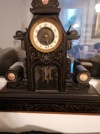 Ceas vechi marmură de șemineu
