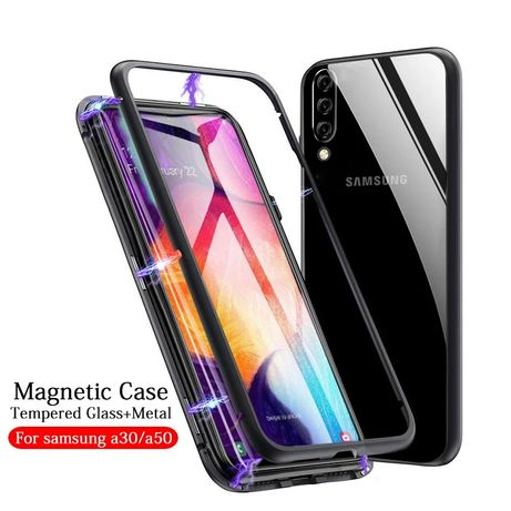 Магнитен Кейс Samsung Galaxy A40 A70 A7 S9 S10 Note 9 10 360 M20