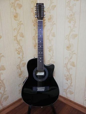Электро-аккустическая 12 струнная гитара Adagio