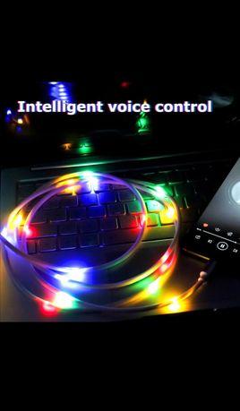 Cablu încărcător cu control voce