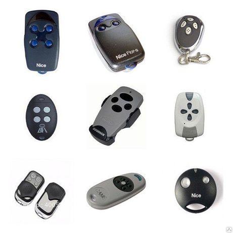 Пульт для / от ворот, шлагбаумов, автоматики, BFT, DoorHan, Nice, CAME
