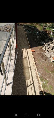 Почистване на дворове и строителството дърва за огрев