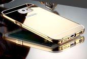 Огледален алуминиев бъмпер кейс за Samsung Galaxy S7, S7 Edgе, S6 Edge