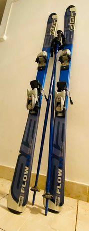 Ski-uri/Schiuri- Elan Flow XT 152 cm + Bete Fischer 115 cm