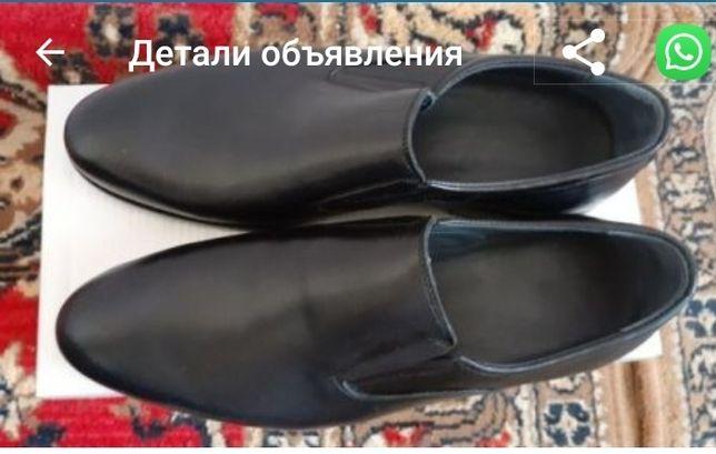 Мужские коженные туфли, новая,качество отличное, модная и стильная,