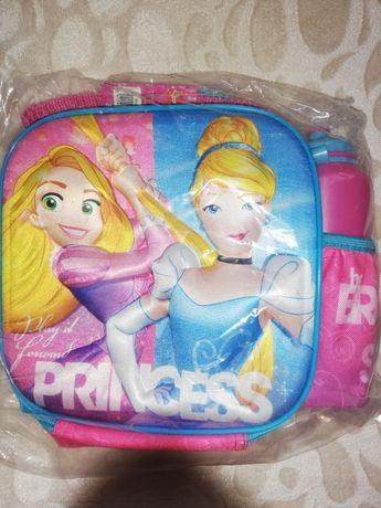 Детска Полиестерна изолирана  чанта 3d образ със спортна бутилка.