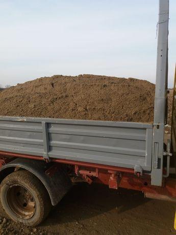 Transport sort nisip balastru moloz.
