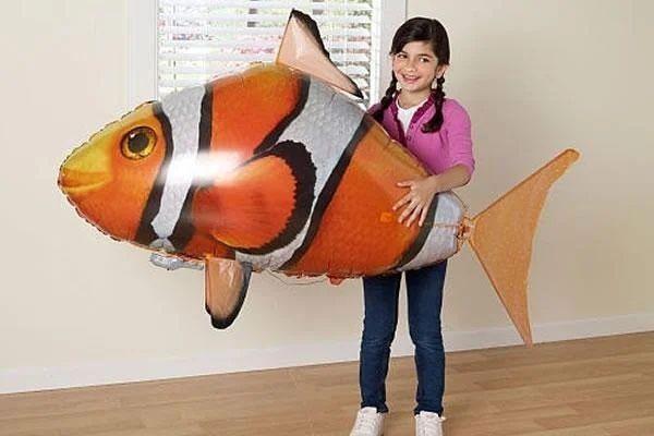 Летающая рыба шарик