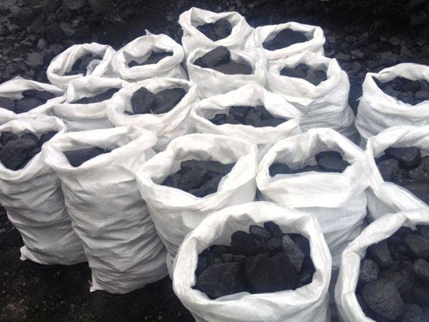 Уголь в мешках 600 тенге