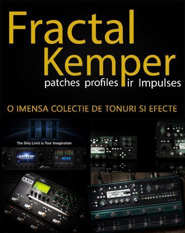 Fractal Ax8 Axe Fx III Kemper profiler, efect procesor chitara