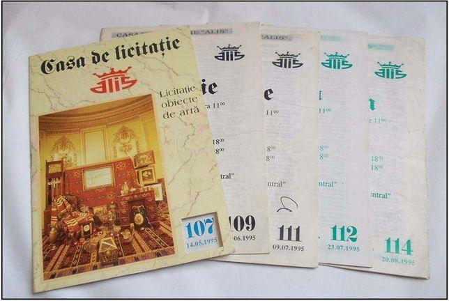 5 CATALOAGE preturi obiecte de arta - ALIS - 1995