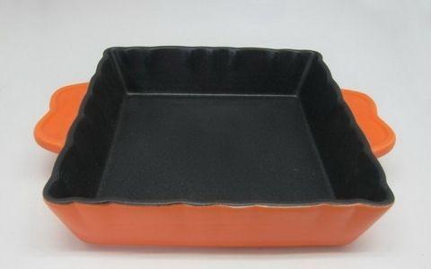Керамическая форма с тефлоновым покрытием Квадратная