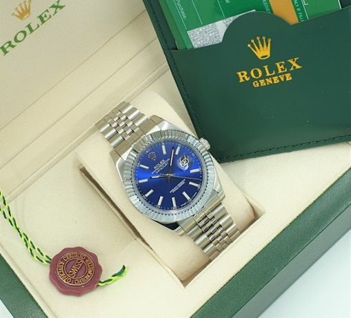 Rolex Datejust Blue