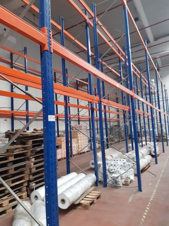 Rafturi metalice profesionale paleți depozitare 285x7645
