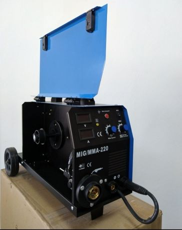 Инверторен телоподаващ+ММА Апарат + редуцил винтил +Маска соларна 560