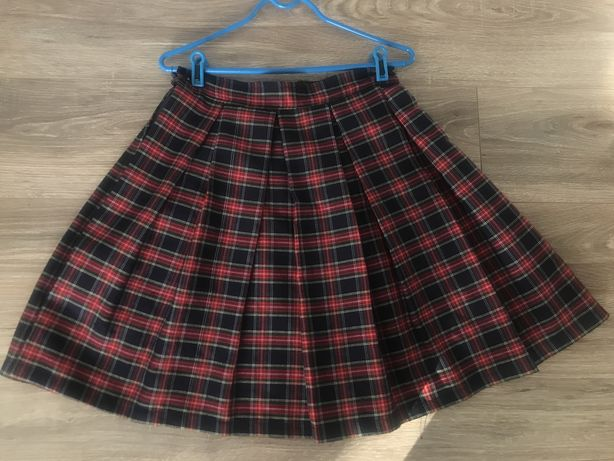 Школьная клетчатая юбка