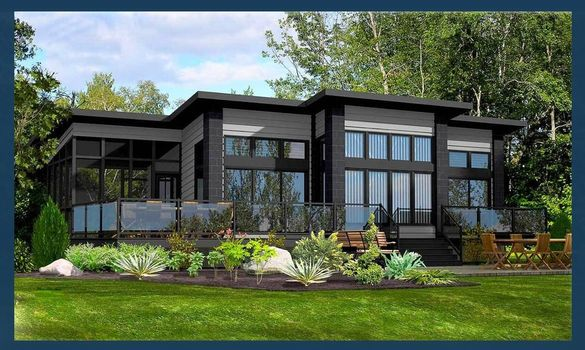 Сглобяеми къщи - проект 130м2. Етап: Груб Строеж. Преместваеми къщи