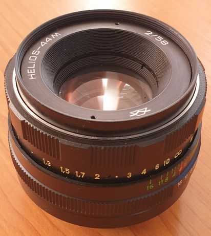 Helios-44M 58mm 1:2  montura M42 (Praktica, Pentax)
