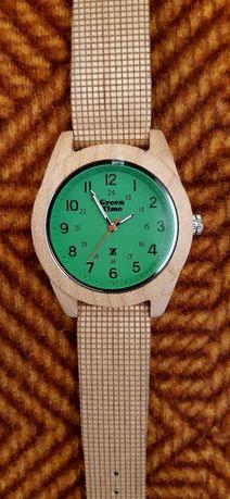 Ceas italian din lemn, Green Time ecologic