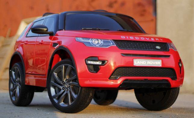 Masina electrica pentru copii Land Rover Discovery cu Display #Rosu