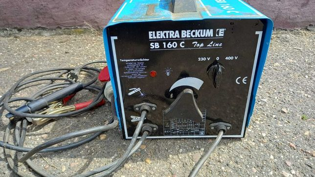 Aparat de sudura Elektra Beckum SB 160 C Mono si Trifazic