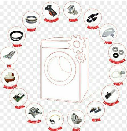 Запчасти для стиральных машин автомат.