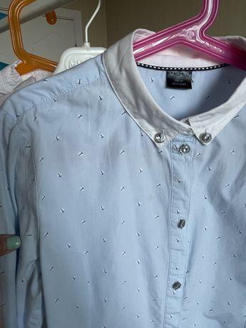 Рубашки, блузки в школу