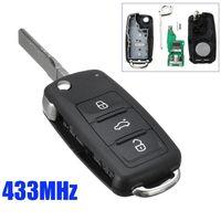 Ключове за VW, Seat и Skoda с електроника, чип, батерия, емблемка