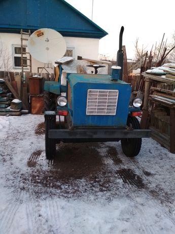 Самодельный трактор с прицепом
