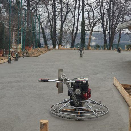 Beton elicopterizat - pardoseli/platforme betonate
