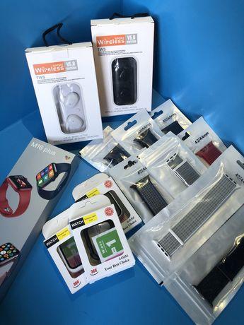 +3 Подарка Смарт часы / smart apple watch / умные часы / Эпл вотч/M16+
