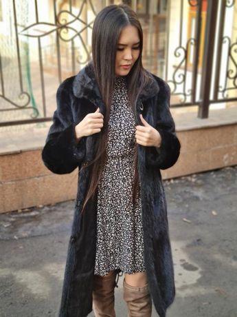 «Рассрочка 0 %» Норковая шуба «Ломбард Белый» Алматы