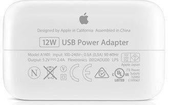 Incarcator original iPad 12W + cablu original NOI Sigilate