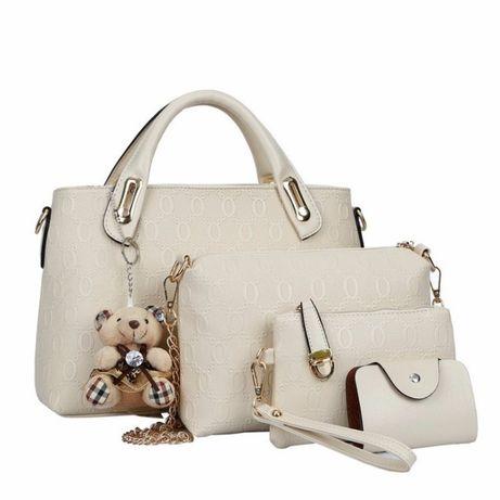 Дамска чанта - сет от 4 части / Комплект дамски чанти