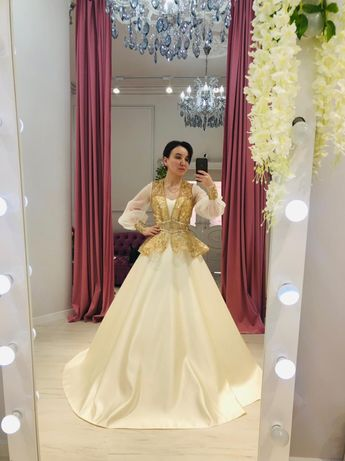 Платье свадебное на узату