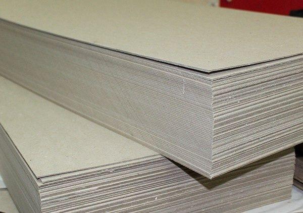 Картон переплётный 2,5 мм, 78*100 см