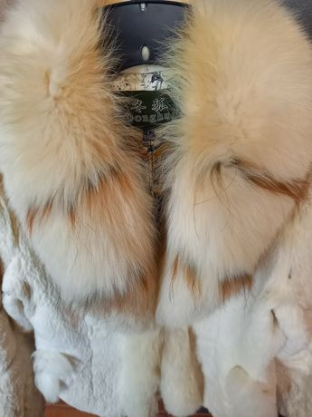 Палто от заек р-р М