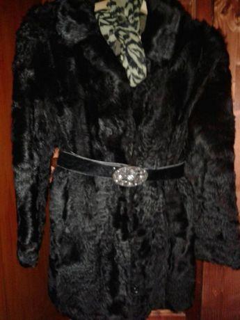 Уникално палто цели кожи шотландско пони