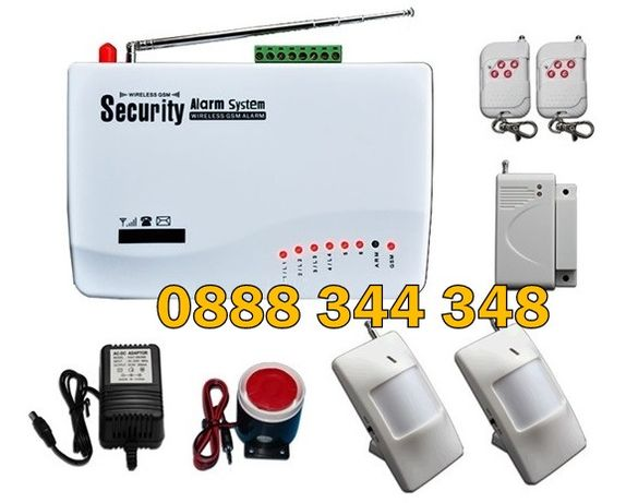 Gsm/sim Безжична алармена система за дома, вилата, офиса, Аларма